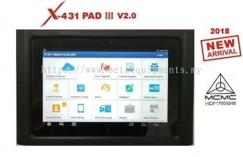 ONLINE PURCHASE LAUNCH X-431 PAD III V2.0 (NEW ARRIVAL)