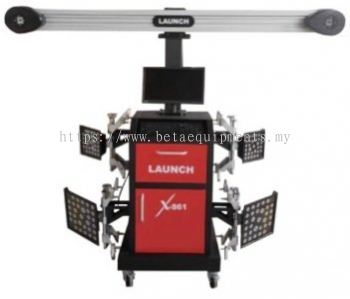 LAUNCH X-861(F) 3D WHEEL ALIGNER with FIXED CAMERA