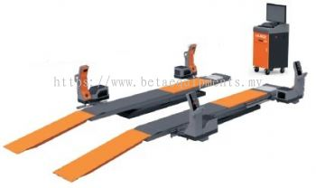 LAUNCH TOUCHLESS ALIGNER X-931 with LAUNCH TLT 840WAF ULTRA THIN BIG SCISSOR LIFT