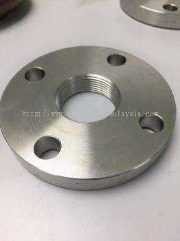 """1"""" Flange with 1 """" NPT Thread Tapping , 2"""" Flange with 2"""" NPT Thread Tapping"""
