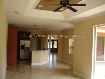 Interior Wall Painting - Damansara / Puchong