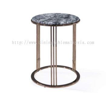 Dark Marble Side Table