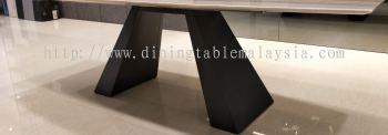 Rectangular Table Base - Quartz Dining Table