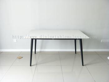 Quartz Stone Dining Table - Alpine
