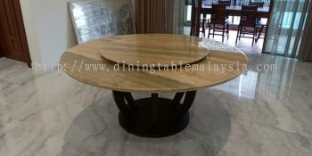 Dining Table Set - Modern Marble Dining Table