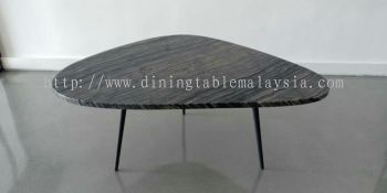 Leaf Shape Modern Marble Coffee Table