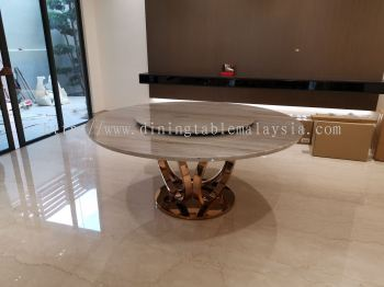 Modern Marble Dining Table - Stain Resistant Marble