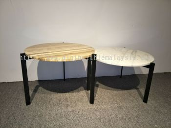 Marble Coffee Table Set | Same Height | Cash & Carry | RM1,500