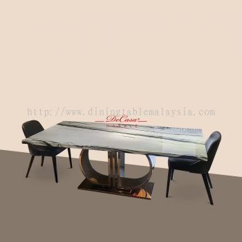 Panda White | China | 8 Seaters | Dining Table only | RM9999