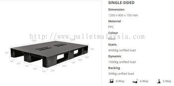 Plastic Pallet 1200x800mm