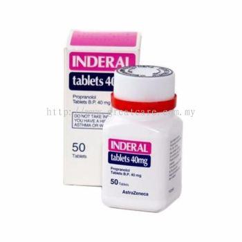 Inderal 40mg