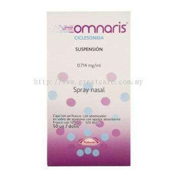 Omnaris Nasal Spray 50mcg