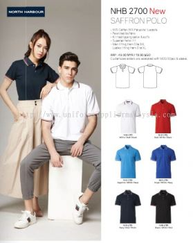 North Harbour NHB 2700 Polo T Shirt
