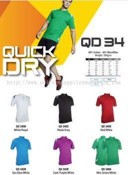 Polo T Shirt MicroFibre- Ready Made