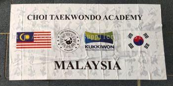 Custom Made Taekwondo Flag & Banner