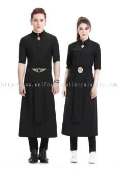 F&B Stylish Fashion Uniform for Cafe and Bar Restaurants