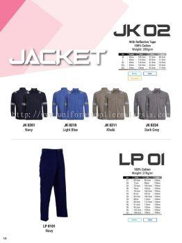 Oren JK02 LP 01 Worker Uniform
