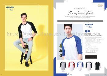 Gildan Raglan Roundneck 180gsm T Shirt