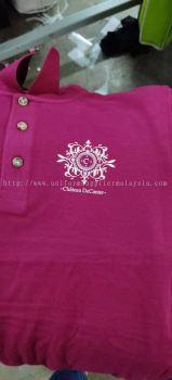 Print Baju collar PJ