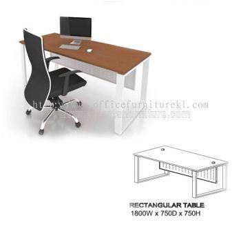 MO EXECUTIVE RECTANGULAR TABLE SIZE