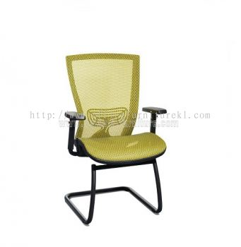 BEVERLY FULL MESH VISITOR CHAIR WITH PP ABV-C3