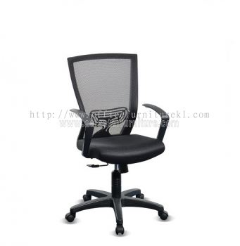 BEVERLY MESH LOW BACK CHAIR WITH PP ABV-A2