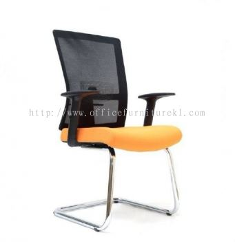 EXOTIC VISITOR ERGONOMIC MESH CHAIR WITH CHROME CANTILEVER BASE ASE 2763