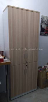DELIVERY & INSTALLATION B-YTD 21 HIGH OFFICE CABINET l WOODEN CABINET OFFICE FURNITURE l ONE PUCHONG BUSINESS PARK l PETALING l SELANGOR