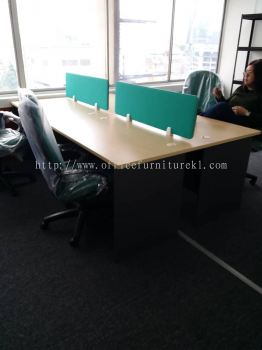 DELIVERY & INSTALLATION GT 127 WRITING OFFICE TABLE l DESKING OFFICE PANEL l HYDE OFFICE FABRIC CHAIR l OFFICE FURNITURE l TROPICANA METROPARK l SUBANG l SELANGOR