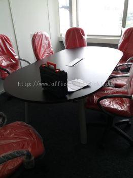 DELIVERY & INSTALLATION QAMAR MEETING OFFICE TABLE l HYDE OFFICE FABRIC CHAIR l OFFICE FURNITURE l JAYA ONE l PETALING JAYA l SELANGOR