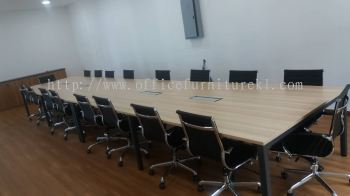DELIVERY & INSTALLATION MUPHI MEETING OFFICE TABLE l SEFINA R1 EXECUTIVE OFFICE CHAIR l OFFICE FURNITURE l UEP SUBANG JAYA l SUBANG l SELANGOR