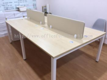 DELIVERY & INSTALLATION MUPHI WRITING OFFICE TABLE l DESKING OFFICE PANEL  l OFFICE FURNITURE l TAMAN INDUSTRI TASIK PERDANA l PUCHONG l SELANGOR