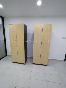 FREE DELIVERY & INSTALLATION HIGH OFFICE CABINET T-YD 21 l WOODEN CABINET OFFICE FURNITURE l PJ NEW TOWN l PETALING JAYA l BEST RECOMMEND