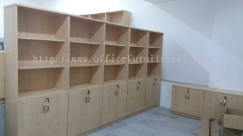 FREE DELIVERY & INSTALLATION HIGH OFFICE CABINET Q-YOD 21 l WOODEN CABINET OFFICE FURNITURE l BUKIT KERINCHI l PETALING JAYA l TOP 10 BEST SELLING OFFICE CABINET