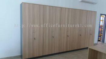 FREE DELIVERY & INSTALLATION HIGH OFFICE CABINET AT-YD 21 l WOODEN CABINET OFFICE FURNITURE l SUBANG HI-TECH INDUSTRIAL PARK l SUBANG JAYA l TOP 10 OFFER ITEM