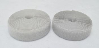 Hook & Loop Fastener Tape (020 Silver Gray)