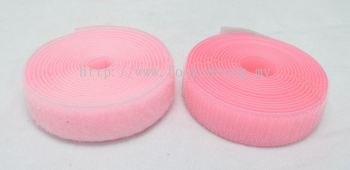 Hook & Loop Fastener Tape (040 Pink)