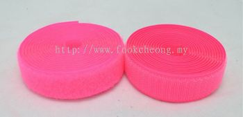 Hook & Loop Fastener Tape (043 Luminous Pink)
