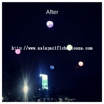 Lighted Giant Balloons (Icon City)