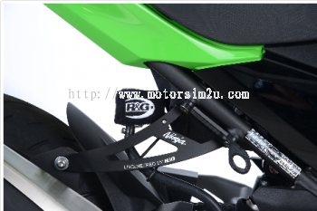 Exhaust Hanger & Footrest Blanking Plate kit for Kawasaki Ninja 400 '18-