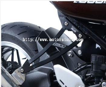 Exhaust Hanger & footrest blanking plate for kit the Kawasaki Z900RS '18-