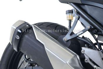 Exhaust Hanger for Kawasaki Ninja 300 ('12-) and Ninja 250 ('13- '17).