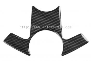 Red Dynamic Carbon Fibre Yoke Pad for Kawasaki Ninja 250/300 ABS models