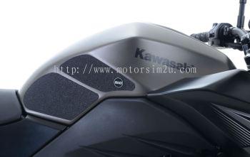 R&G Tank Traction Grip Kit For The Kawasaki Ninja 250 ('13-'17), Ninja 300 '13- and Kawasaki Z300 mo