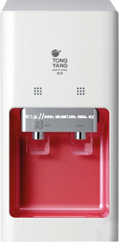 Tong Yang Water Dispenser 8910C Red Table Top/ Counter Top - Hot & Cold