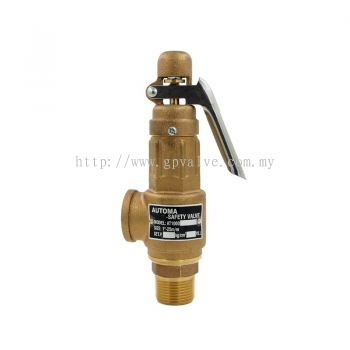 AUTOMA BRONZE SAFETY VALVE