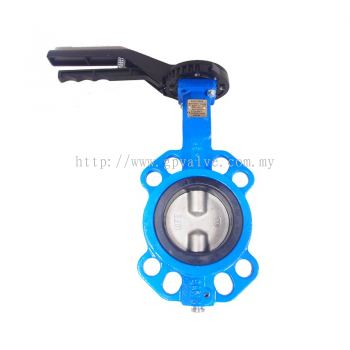 AUTOMA BUTTERFLY VALVE C/I BODY EPDM SEAT SS304 DISC