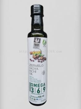 High Quality Sacha Inchi Oil 250ml (Brand: ZEMVELO) - RM 158