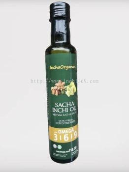 Incha Organics sacha inchi oil 250ml - RM 118