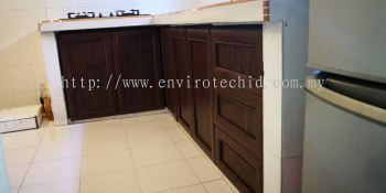 ALUMINIUM DOOR FINISHING - WOOD GRAIN COLOR